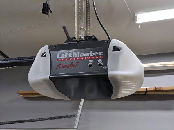 Liftmaster garage door operator on Ossining, NY home